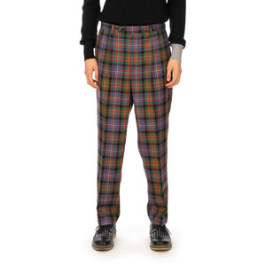 LC23 | Check Trousers Multi