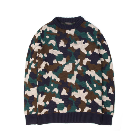 LC23 Camouflage Jaquard Sweater