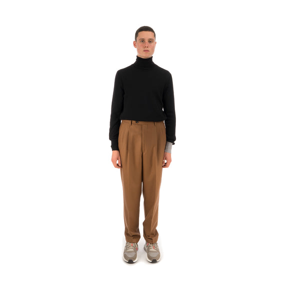 LC23 Flanella Trousers Camel