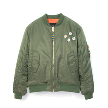 Load image into Gallery viewer, LC23 Green Patch Bomber