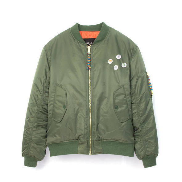 LC23 Green Patch Bomber