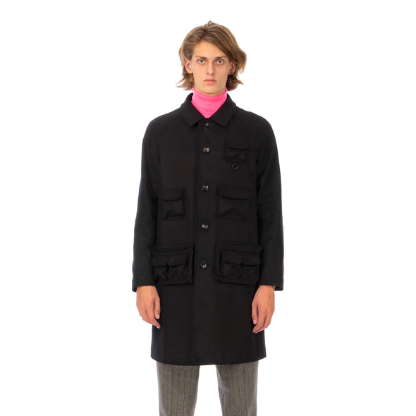 LC23 | Multitasca Coat Black