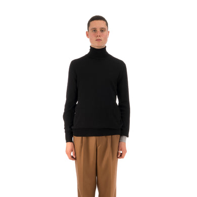 LC23 | Turtleneck Sweater Black - Concrete