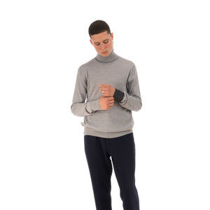 LC23 Turtleneck Sweater Grey