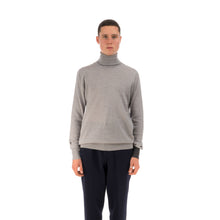 Load image into Gallery viewer, LC23 Turtleneck Sweater Grey