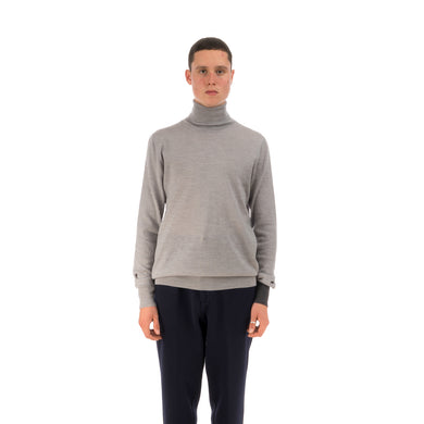 LC23 | Turtleneck Sweater Grey - Concrete