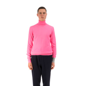 LC23 | Turtleneck Sweater Pink - Concrete