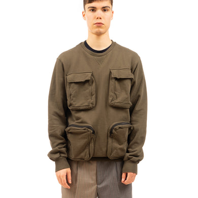 LC23 | Multitasca Sweatshirt Army