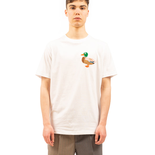 LC23 | Duck T-Shirt White - Concrete