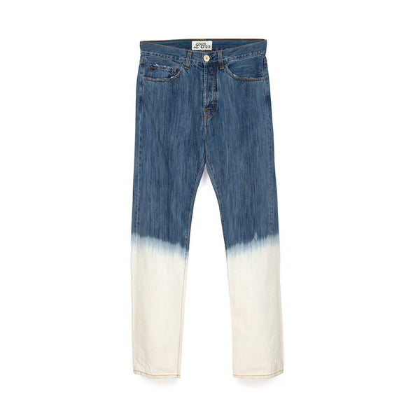 LC23 | 2 Colori Denim Trousers Blue/White - Concrete