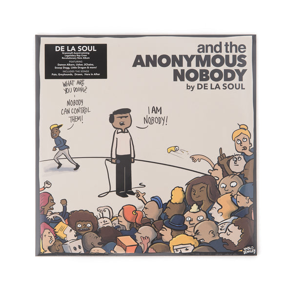 De La Soul - And The Anonymous Nobody 2-LP