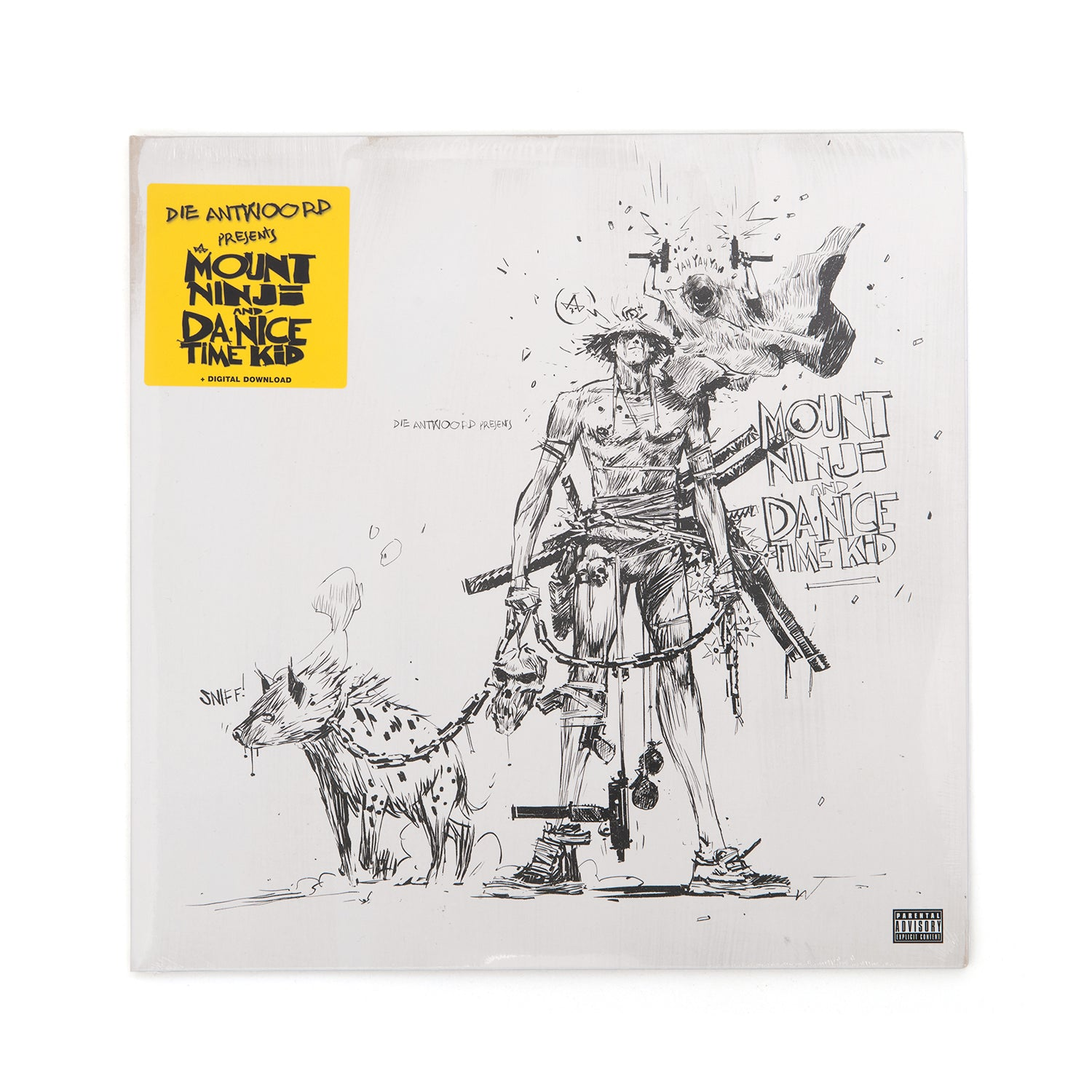 Die Antwoord - Mount Ninji And Da Nice Time Kid 2-LP