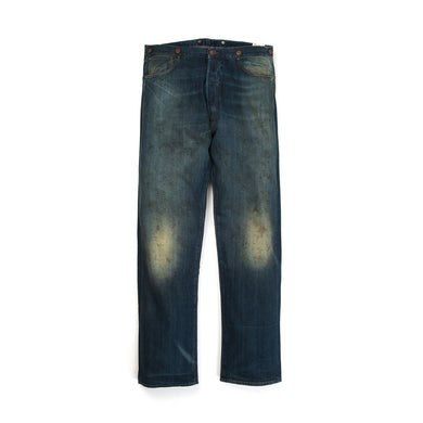 Levi's Vintage Clothing 1901 501 Jeans Saddle Sore - Concrete