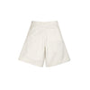 Lou Dalton Tripple Seam Wide Leg Shorts White Denim