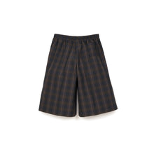 Afbeelding in Gallery-weergave laden, Lou Dalton Boxer Wide Leg Shorts Brown Check