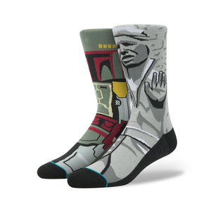Stance | x Star Wars 'Frozen Bounty' Grey - Concrete