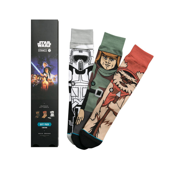 Stance | x Star Wars 'Return Of The Jedi' Black - Concrete