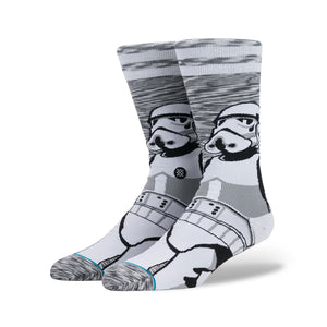 Stance | x Star Wars 'Empire' Grey - Concrete