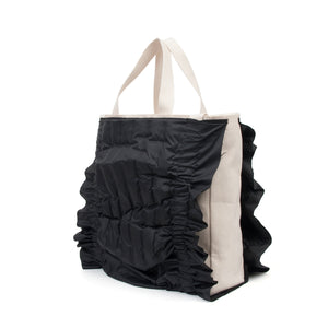 Museum of Friendship Down Tote Black - Concrete