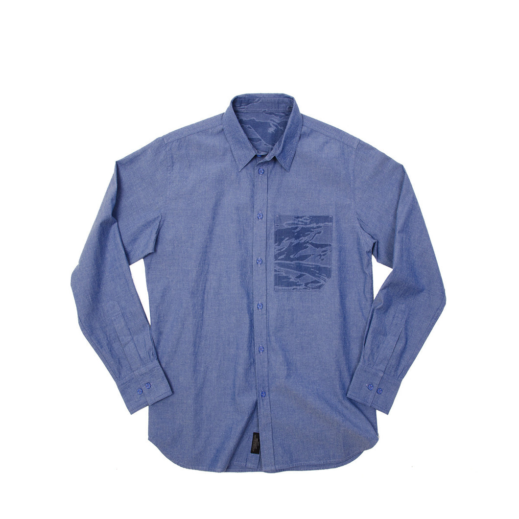 MHI Pocket Shirt Sky Blue - Concrete