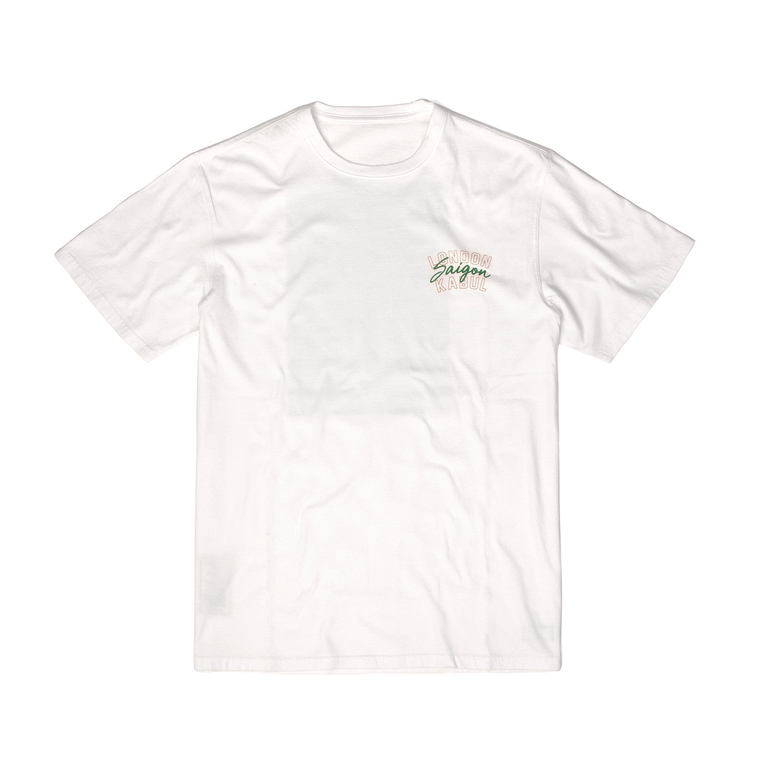 MHI Passport T-Shirt White - Concrete
