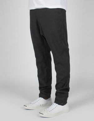 maharishi | Long Quilon Pant Charcoal - Concrete