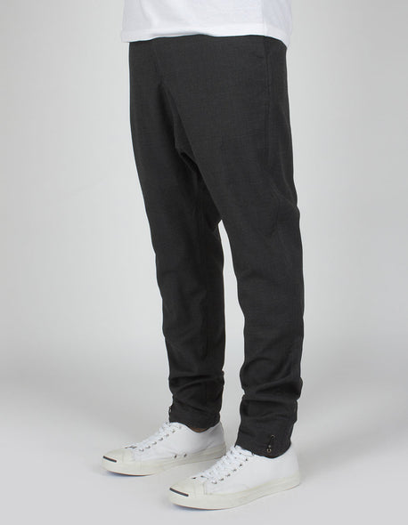 maharishi Long Quilon Pant Charcoal - Concrete