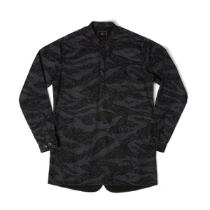 maharishi Viet Kurta Shirt Night - Concrete