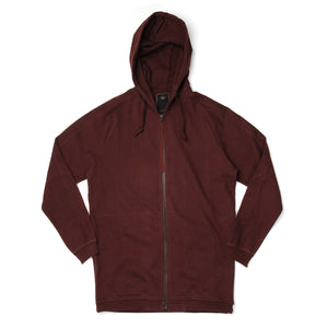 maharishi Kabul Hooded Sweat Telo Brown - Concrete