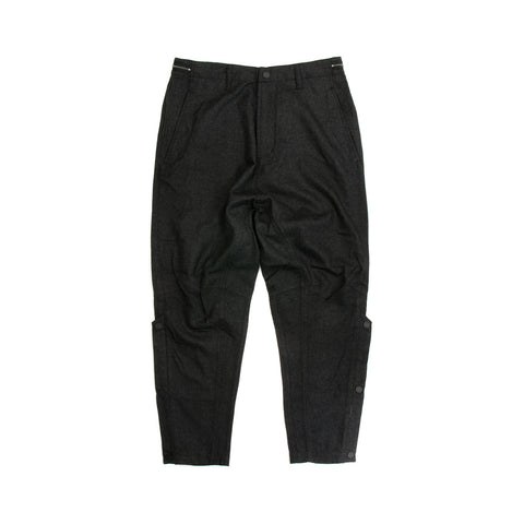maharishi Shinobi Low Wool Pants Charcoal - Concrete