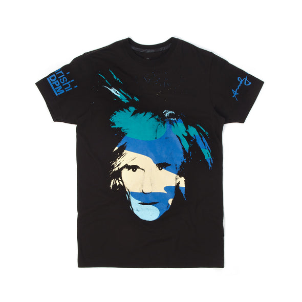 Maharishi Slim T-Shirt Self Potrait Warhol Black - Concrete