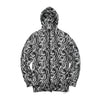 Maharishi Half Raglan Zip Hooded Sweat Charcoal