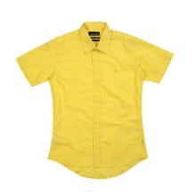 Load image into Gallery viewer, Maharishi Official S/S Blind Shirt Sun Yellow - Concrete