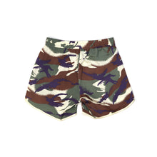 Load image into Gallery viewer, maharishi W Camo Silk Shorts Papal Woodland - Concrete