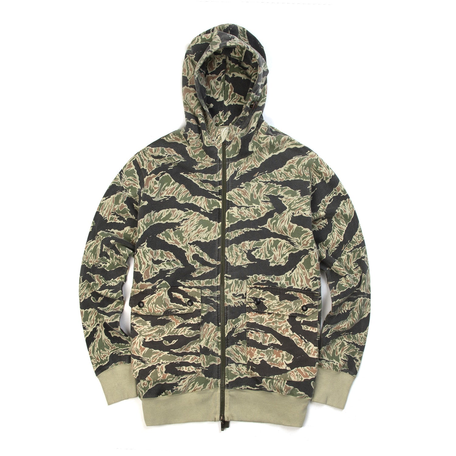 Maharishi Cargo Patch Hooded Sweat DPM