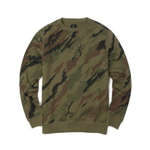 Load image into Gallery viewer, maharishi | Camo Red Tiger Crew Sweat Woodland - Concrete