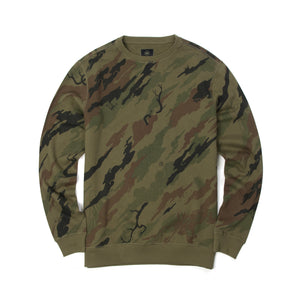 maharishi Camo Red Tiger Crew Sweat Woodland
