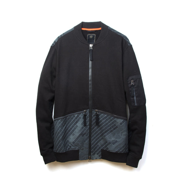 maharishi Disruptive Short Sweat Jacket Night Camouflage