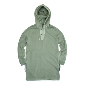 maharishi Mid Djellaba Hooded Sweat Patina