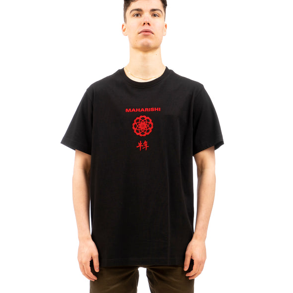 maharishi | 9309 Paper Cut Year Of The Ox T-shirt Black - Concrete