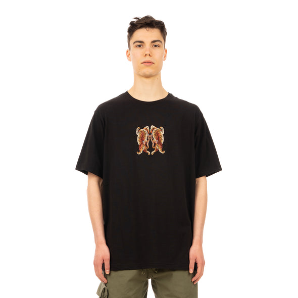 maharishi | 2063 Hearts Of Tigers T-Shirt Black - Concrete