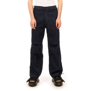 maharishi | 2708 Sno Denim Pants Wind Dragon Blue Denim - Concrete