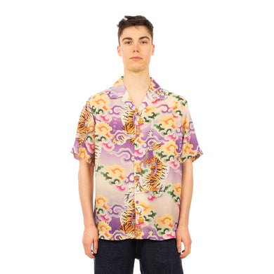maharishi | 2130 Tiger Camp Summer Shirt Lavender - Concrete
