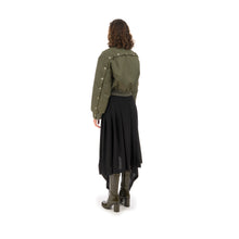 Afbeelding in Gallery-weergave laden, Marios Bamboo Twill Aviator Jacket Green