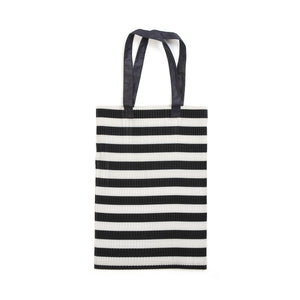 Marios Pleated Tote Bag Blue - Concrete
