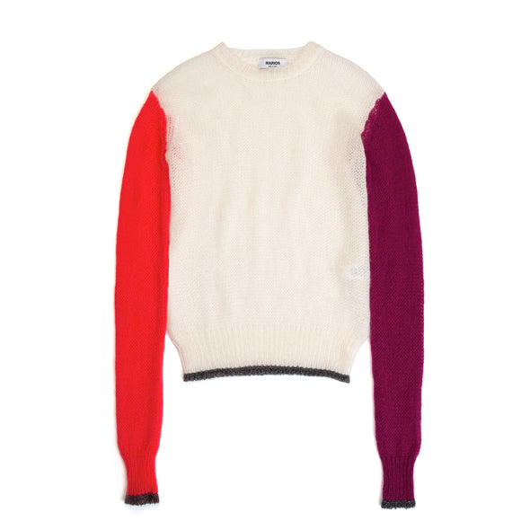 Marios Short Sweater Multicolor - Concrete