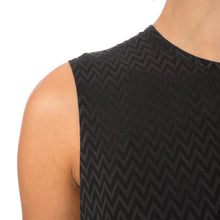 Load image into Gallery viewer, Marios Asymmetric Dress w/ Seperate Sleeves Black