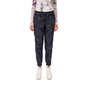 Marios Tomboy Pants Blue - Concrete