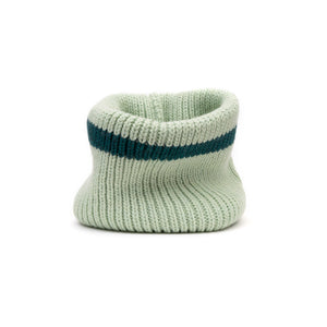 Marios Striped Collar Mint - Concrete