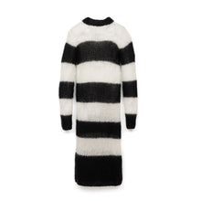 Afbeelding in Gallery-weergave laden, Marios Striped Dress White / Black